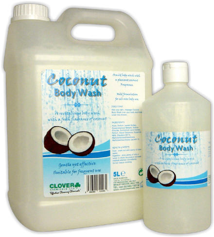 Clover Coconut Body Wash